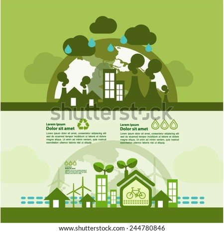 Let's Go green together to save the world