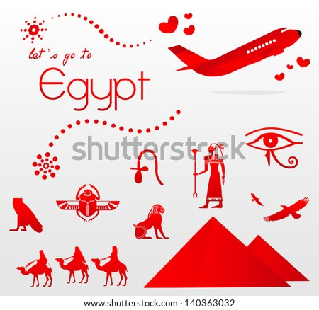 let's go to Egypt