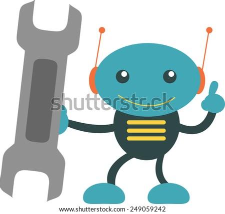Let's Repair It!!! - stock vector