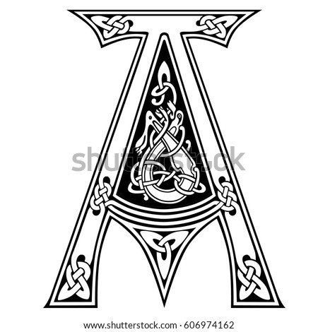 letter art alphabet icon vector illustration stock vector royalty