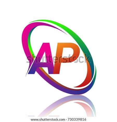 ap font logo stock images royalty free images vectors. Black Bedroom Furniture Sets. Home Design Ideas