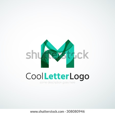 Abstract trend polygon letter n logo stock illustration for Modern cleaning concept