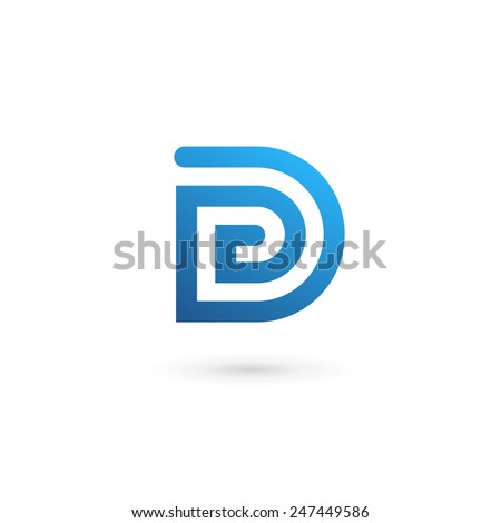 Letter d stock images royalty free images vectors shutterstock letter d logo icon design template elements altavistaventures Image collections
