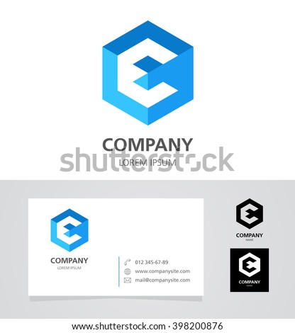 letter e logo stock images, royalty-free images & vectors