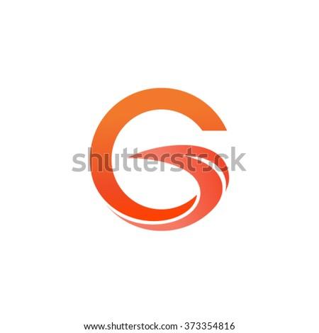 Letter G logo - stock vector
