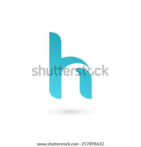 Letter h logo icon design template stock vector 257898635 letter h logo icon design template elements pronofoot35fo Gallery