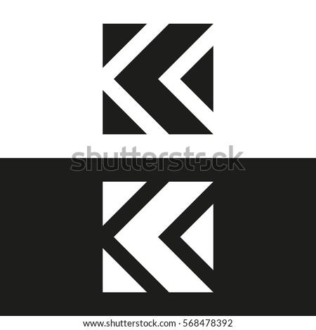 Letter k business logo template vector stock vector 568478392 letter k business logo template vector icon minimal logo design spiritdancerdesigns Images