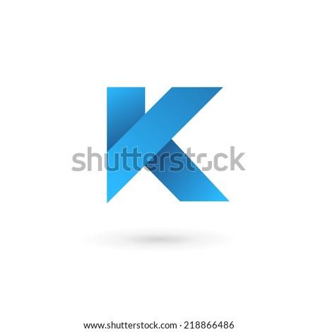 ... logo minima... K Logo Design