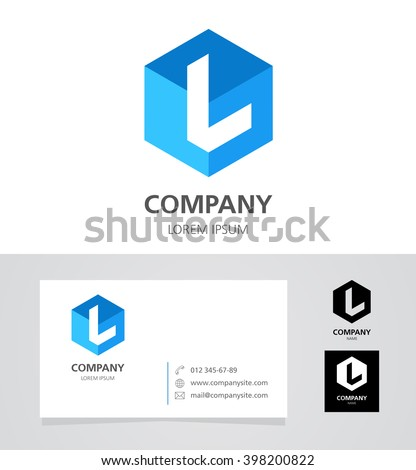 Letter l logo stock images royalty free images vectors Branding and logo design companies