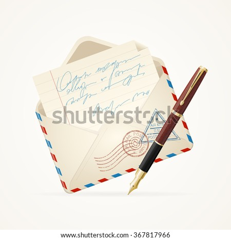 Letter Mail Stock Images, Royalty-Free Images & Vectors | Shutterstock