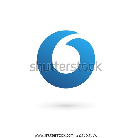 Letter O logo icon design template elements  - stock vector