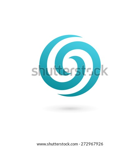Letter O number 0 logo icon design template elements