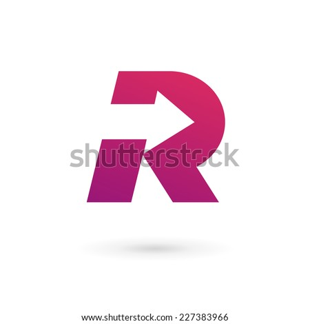 Letter R logo ic...R Design Letter