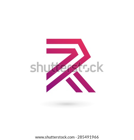 Abstract Business Logo Icon Design Template Stock Vector
