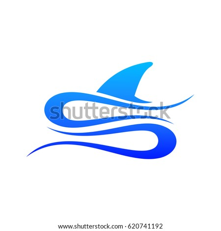 letter s logo shark fin stock photo photo vector illustration rh shutterstock com  shark fin logo design