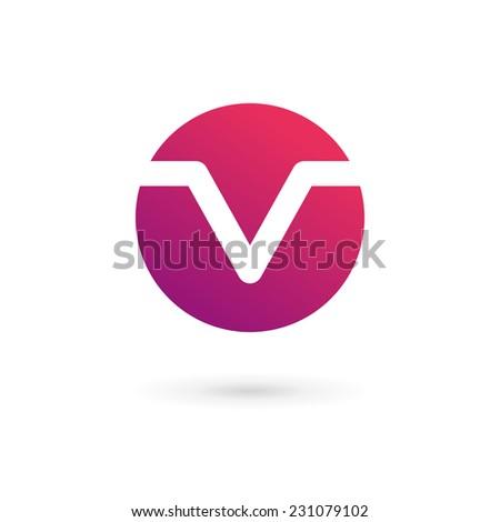v and s logo design  Letter V logo icon design