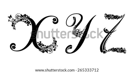 Best calligraphy gothic images types of font