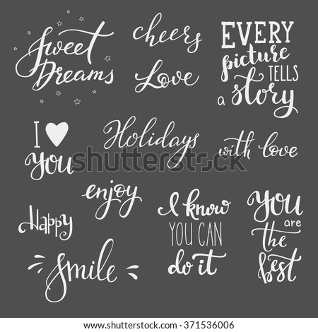 Cute quote background stock images royalty free images vectors lettering photography overlay set motivational quote sweet cute inspiration typography calligraphy postcard poster junglespirit Choice Image