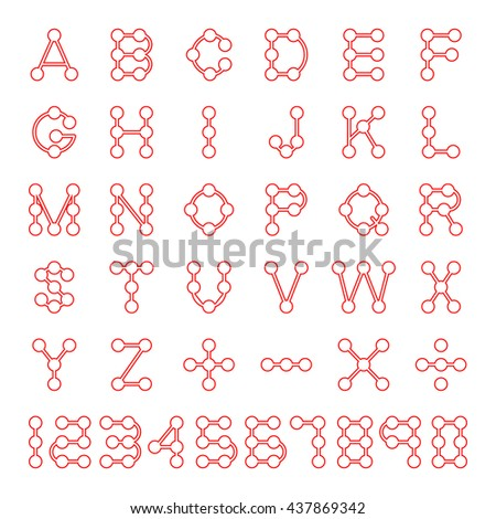Letters AZ Dripping Circuit Board Vector Stock Vector HD (Royalty ...
