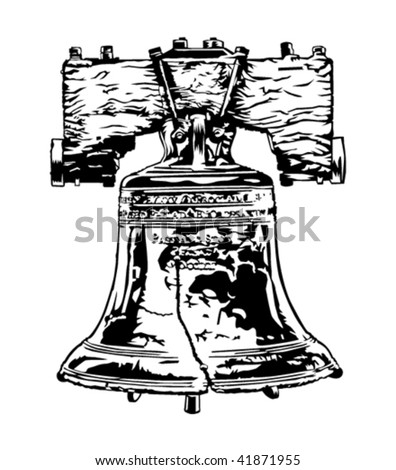 Liberty bell - stock vector