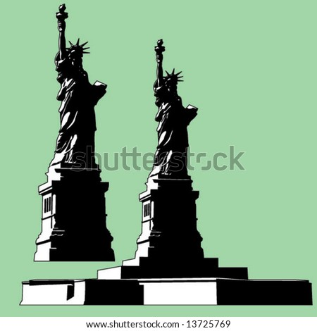 Liberty Monument - stock vector