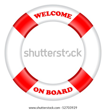 life buoy vector - stock vector