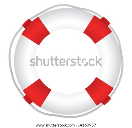 Life Saver - stock vector