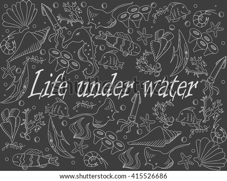 life under sea water essay Full-text paper (pdf): undersea - rachel carson | researchgate, the  professional  publication as an essay on the pages of the  ecology that  dominates ocean life, and the  of water, makes but a fleeting, bluish twilight.