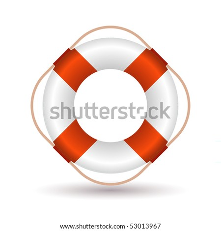 Lifebelt icon - stock vector