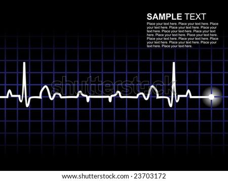 Lifeline In An Electrocardiogram Wallpaper