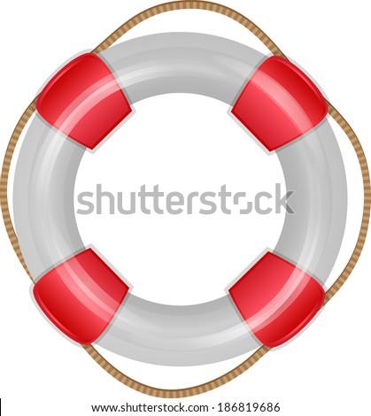 Lifesaver icon. - stock vector