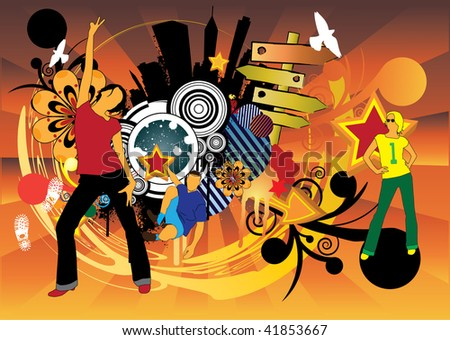 Lifestyle - stock vector