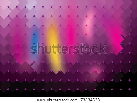Light and glow - stock vector