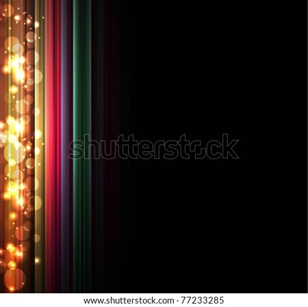 light background vector with place for text - stock vector