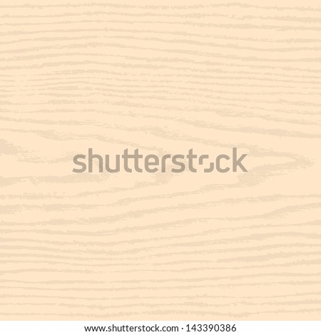 Light beige wood texture background. Empty natural pattern swatch template. Realistic plank with annual years circles. Backdrop size square format. Vector illustration design elements 8 eps - stock vector