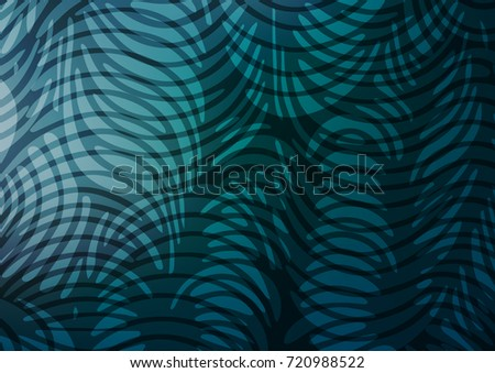 Light BLUE vector natural abstract pattern. A completely new color illustration in doodle style. A completely new template for your business design.