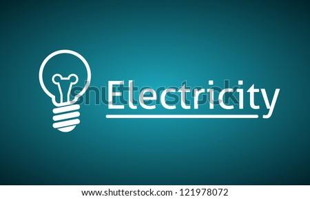Light Bulb. Clean Background. - stock vector