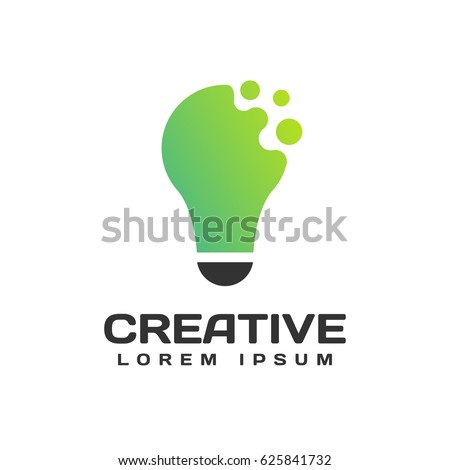 Light Bulb Logo Icon Creative Ideas Concept Idea