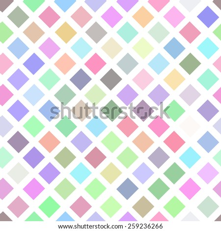 light geometrical seamless texture from rhombuses a vector an illustration - stock vector