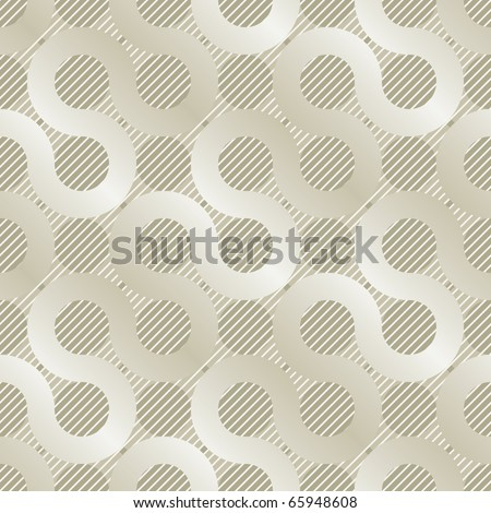 light golden mishmash seamless background for web design or wrapping - stock vector