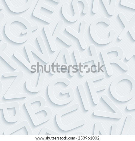 Light gray 3D perforated paper with cut out effect. Editable EPS10. See others in my Perforated Paper Sets. - stock vector