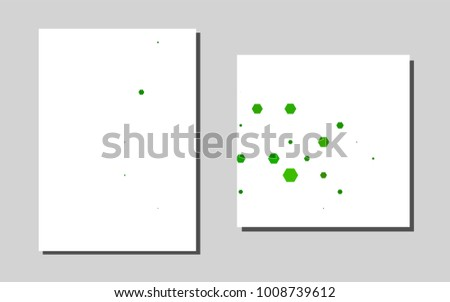 Light Greenvector Template Landing Pages Abstract Stock Photo (Photo ...