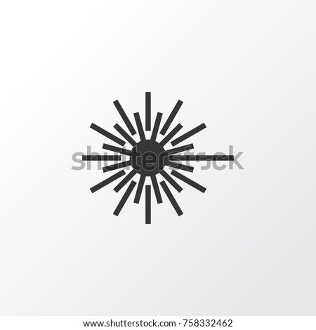 Light Icon Symbol Premium Quality Isolated Stock Vector 758332462