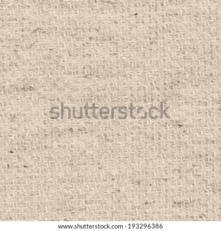 Light natural linen texture for the background. And also includes EPS 10 vector - stock vector