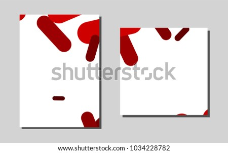 Light redvector cover envelopes beautiful colored stock vector light redvector cover for envelopes beautiful colored sample in a4 size pattern for beautiful reheart Image collections