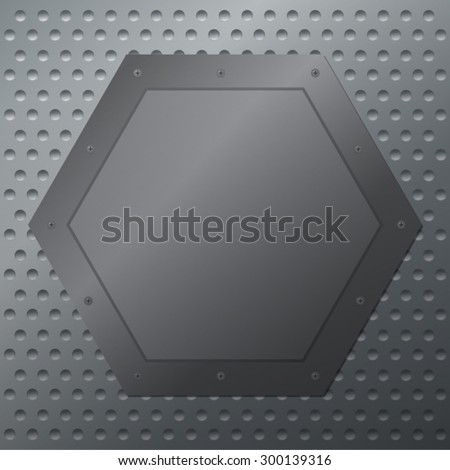 Light silver metal background