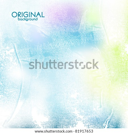 Light textured background - stock vector