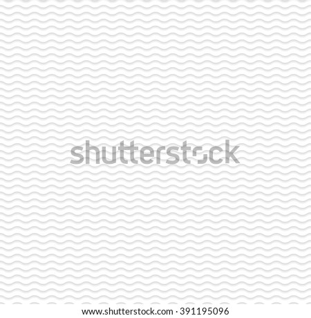 light wave 3d geometric pattern  - stock vector