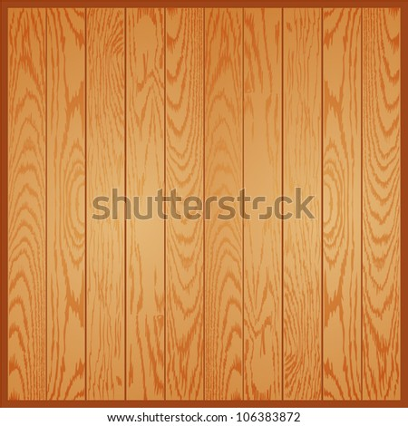 Light wood background - stock vector