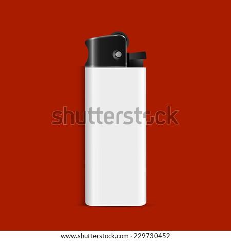 Lighter. Vector EPS10 - stock vector